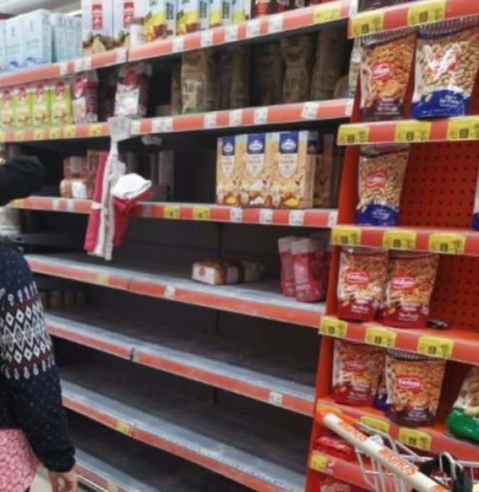 Koronavirüs Vakası Sonrası Marketlere Hücum Edildi