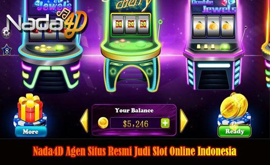 Nada4D Agen Situs Resmi Judi Slot Online Indonesia