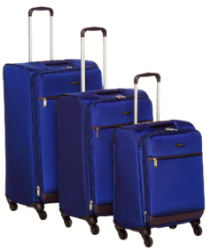 ( Loot Deal ) Amazon Basics Pack of 3 Trolleys Bag Of Rs.7229 ( Worth Of 18000 )