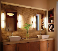 Vanity lighting to make a cozy bathroom