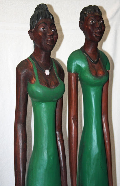 African Decor│Colonial Wood Figures 8