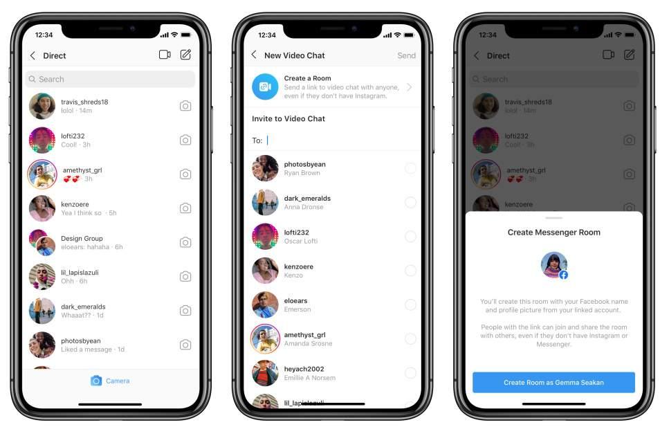 Video Call di Instagram sampai 50 Orang (facebook.com)