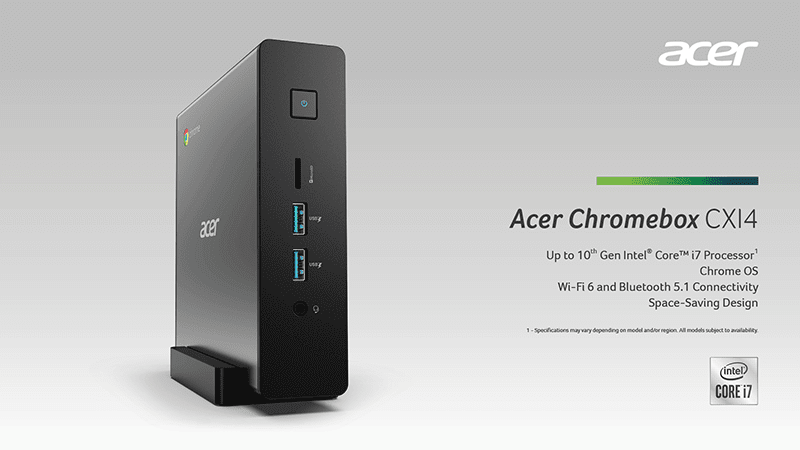 Acer Chromebox CX14, Halo Smart Speaker announced