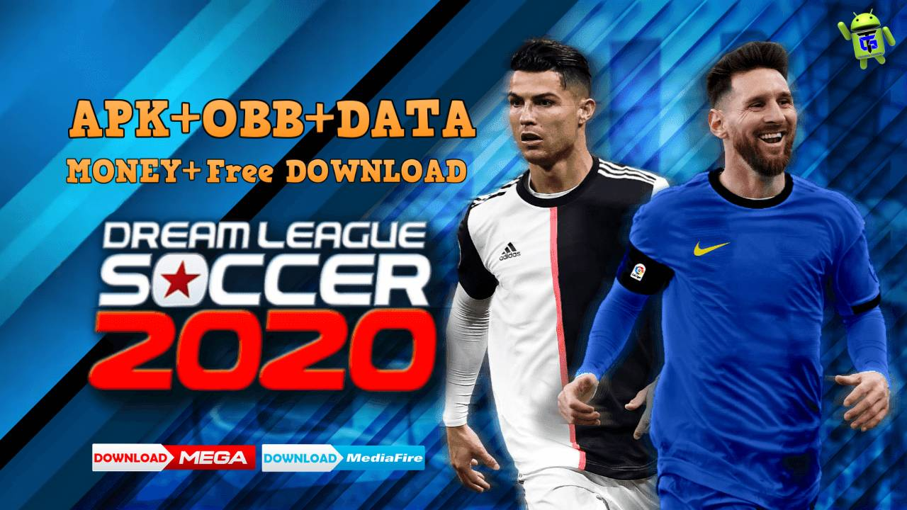 Download DLS 2020 MOD Apk Messi - Ronaldo Edition - Games Download