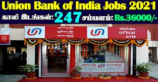 Union Bank Recruitment 2021 247 SO Posts