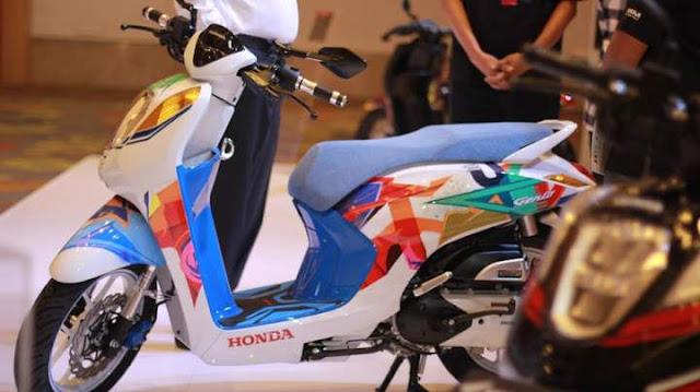 Modifikasi Honda Genio 110 Urban