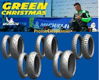 """Concorso Michelin """"Green Christmas"""" : vinci gratis 10 set di pneumatici per moto"""