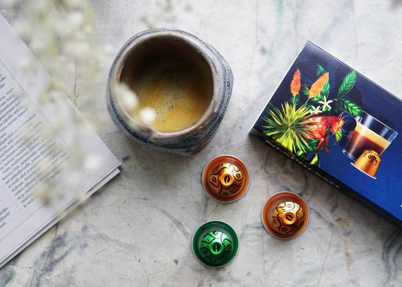 nespresso kahvit, nespresso, Nespresso Arabica Ethiopia Harrar, Nespresso Robusta Uganda