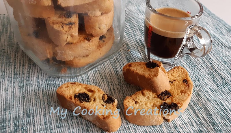 Кантучини със сушени боровинки * Cantuccini ai mirtilli rossi