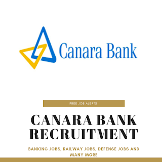 """Canara Bank Recruitment"""