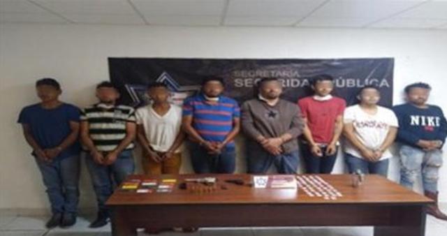 Se les acabo el corrido a los de El Mencho capturan a 8 del CJNG en Puebla