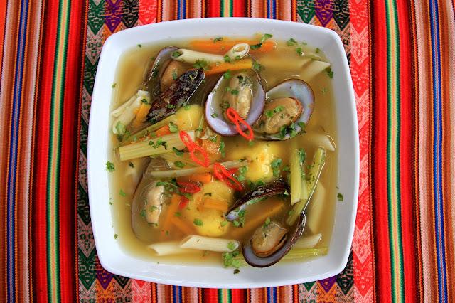 chilcano de choros receta peruana