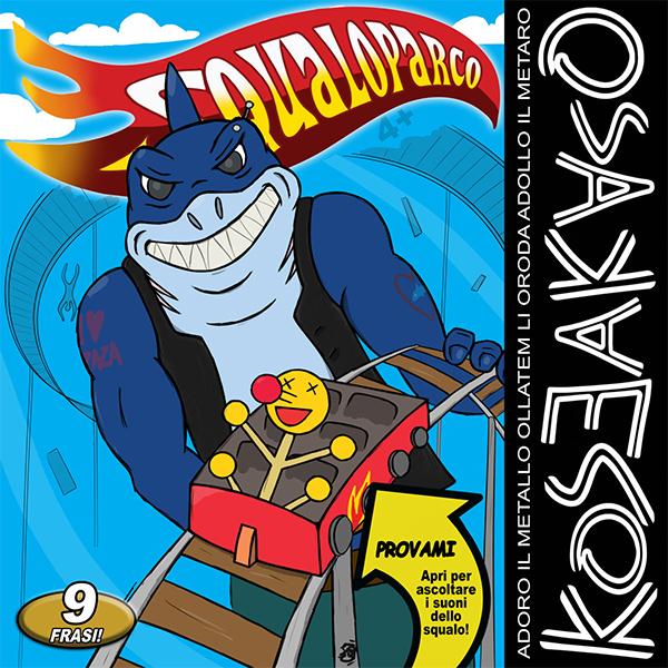 "Koseakaso stream new album ""Squaloparco"""