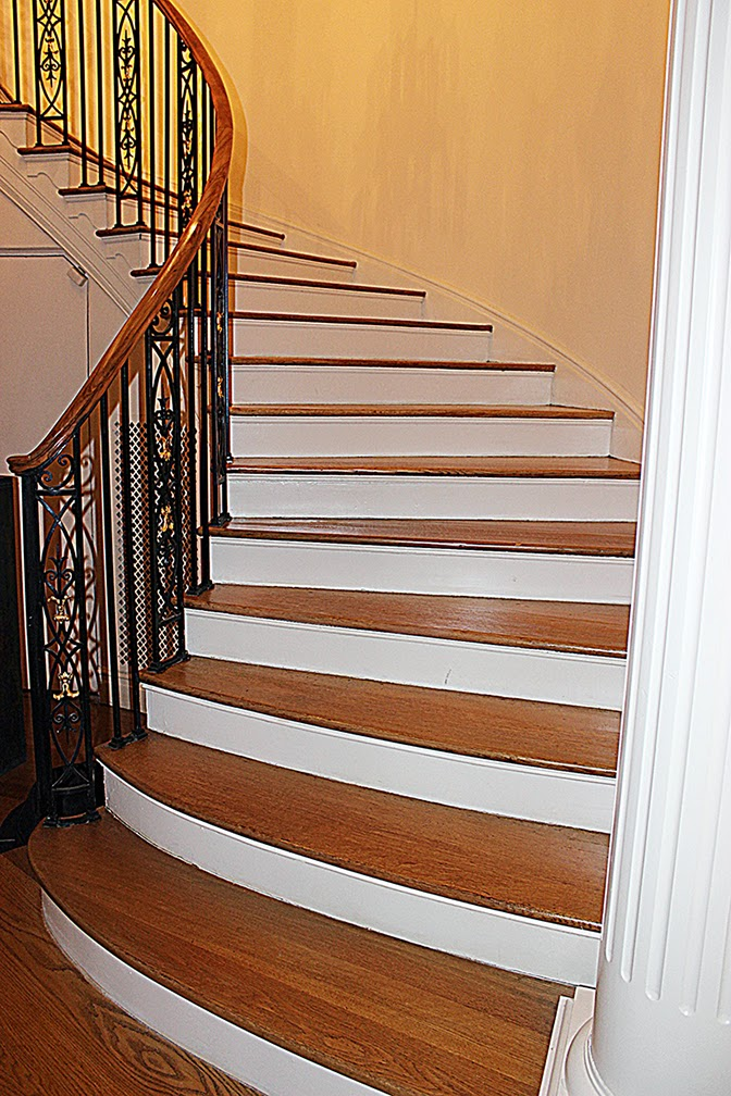 Sandless Wood Stair Refinishing NYC
