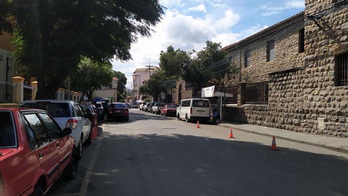 Transporte público a San Jacinto - Tarija