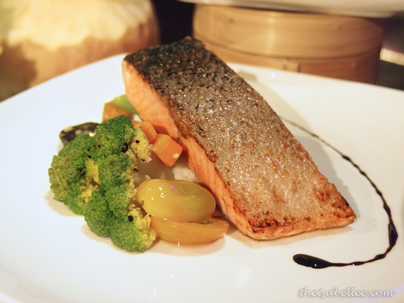 Grilled Salmon at TGV Indulge