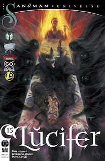 Se agrega el #15 de la serie regular de Lucifer Vol.3 gracias a la alianza entre el Rincón Geek, 9 Reinos Cómics, Gisicom, Infinity Cómics, La Mansión CRG y Legion de Comiqueros.