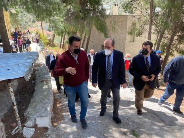 Τι αναφέρει ο Δήμαρχος Ναυπλιέων για την επίσκεψη Νίκα στο κτίριο εξυπηρέτησης απόρων