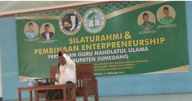 Kiai Asep: Jokowi Orang Baik tapi Selama ini Selalu Jadi Korban Hoax