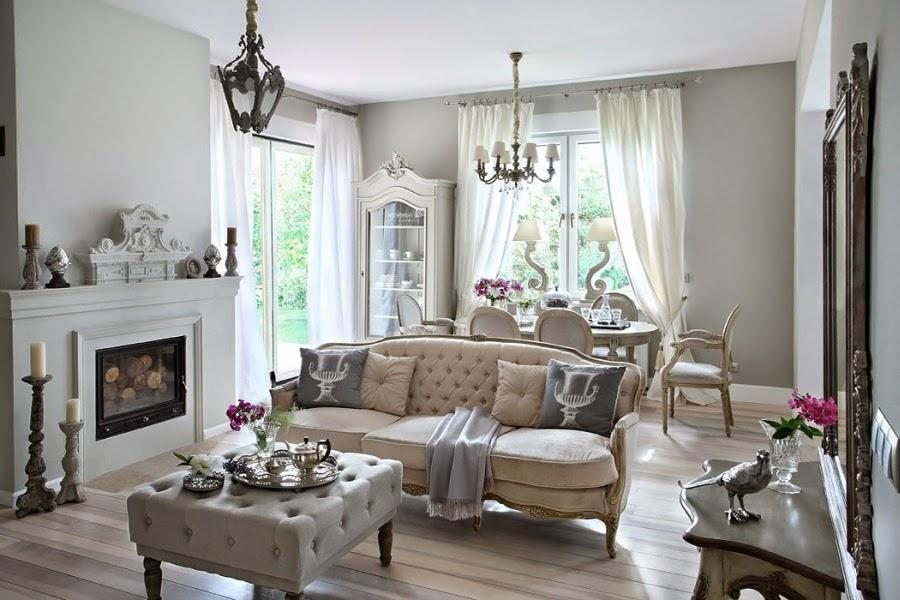 Szarość we francuskim stylu, wystrój wnętrz, wnętrza, urządzanie domu, dekoracje wnętrz, aranżacja wnętrz, inspiracje wnętrz,interior design , dom i wnętrze, aranżacja mieszkania, modne wnętrza, styl francuski, styl rustykalny, glamour, szarości, kolor szary, szare wnętrza, eleganckie wnętrza, salon