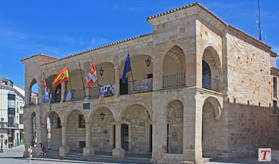 Ciudad de Zamora, plaza Mayor