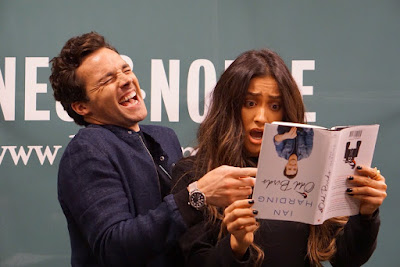 PLL actors Ian Harding and Shay Mitchell promote book 'Odd Birds'