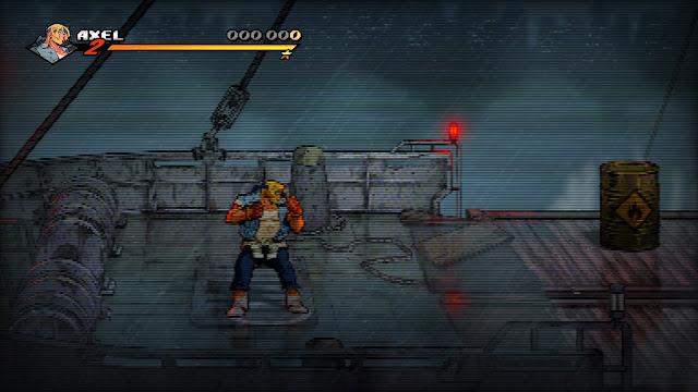 Streets of Rage 4 - Modo filtro ctr
