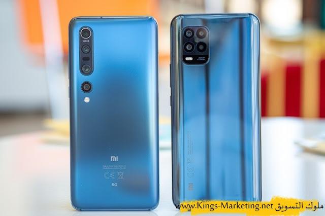 تصميم الهاتف - مراجعة هاتف Xiaomi Mi 10 Lite 5G موقع ملوك التسويق