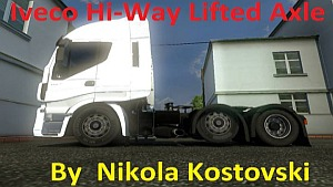 Iveco Hi-Way Lifted Axle by Nikola Kostovski