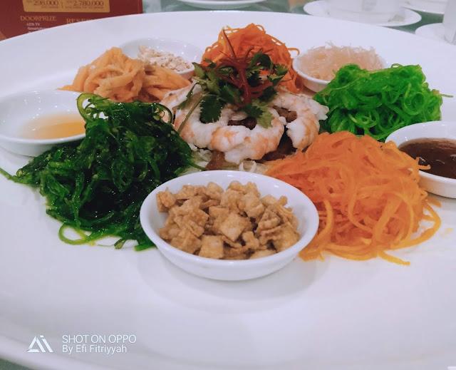 menu gala dinner tahun baru cina di harris festival citylink