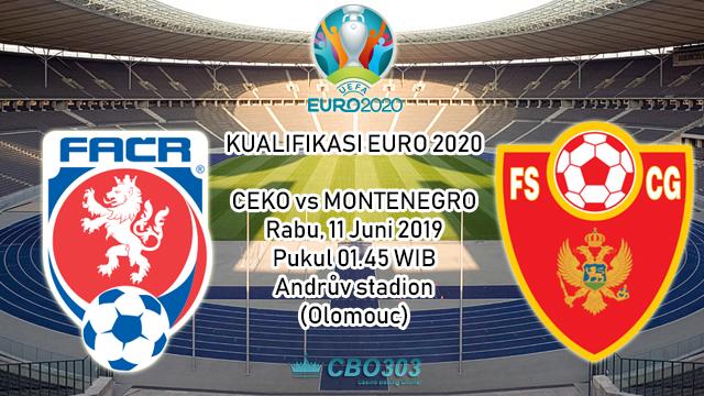 Prediksi Kualifikasi EURO 2020 Ceko vs Montenegro (11 Juni 2019)