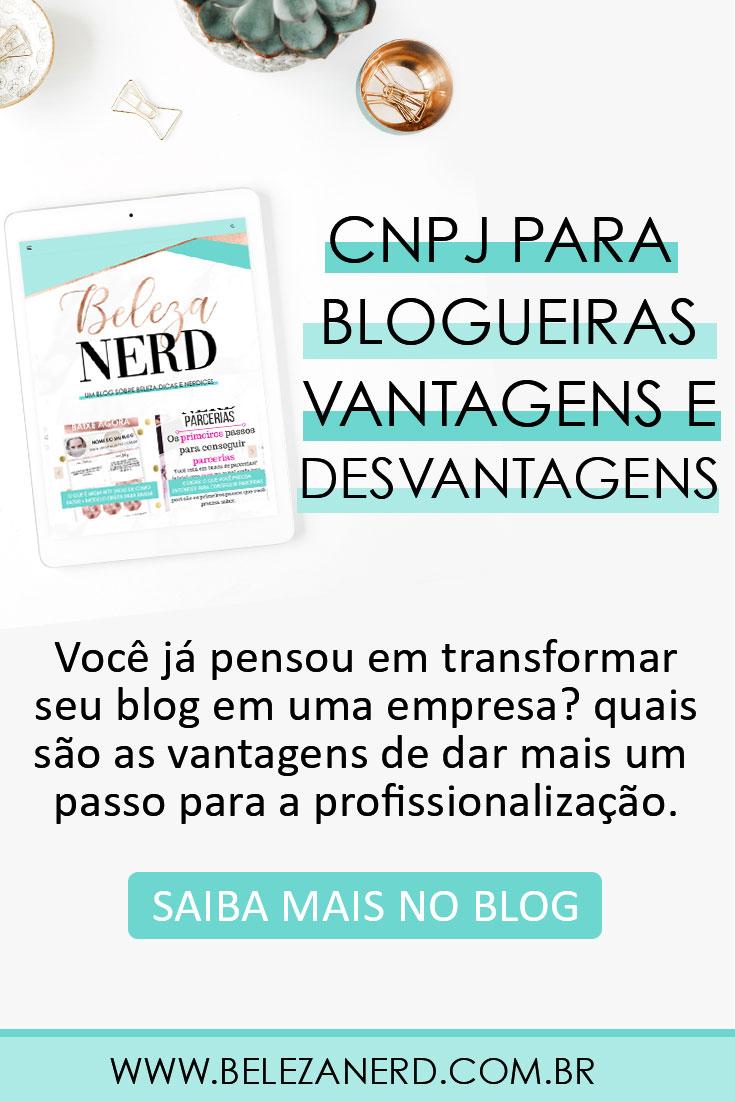 MEI para blogueiras CNPJ