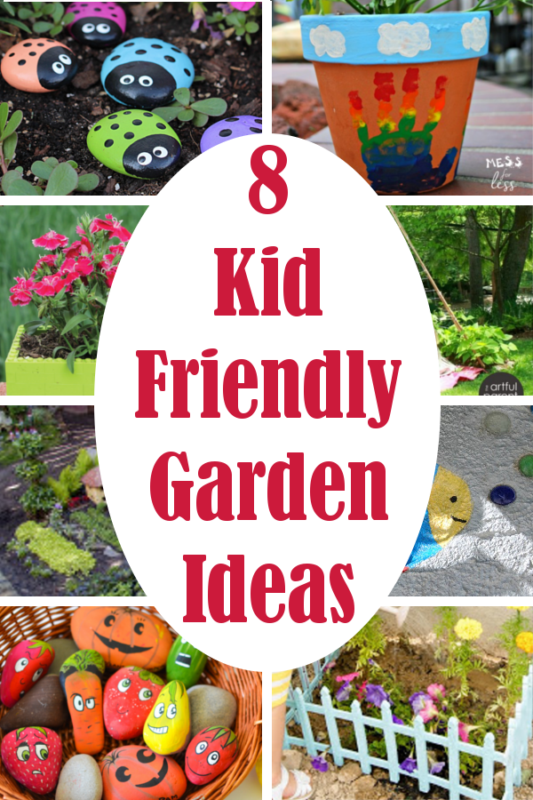 Diy home sweet home 8 kid friendly garden ideas for Children friendly garden designs