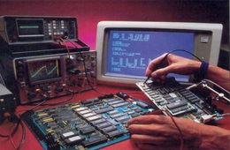 ورشة صيانة إلكترونية