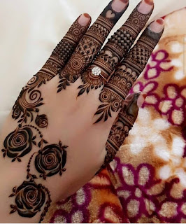 Instagram henna Mehndi designs pictures and pics
