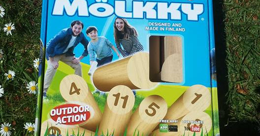 Molkky ! Wooden garden game review