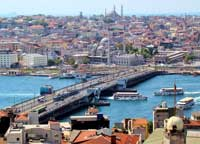 Paket umrah plus Turki, Galata Bridge, Selat Bosporus