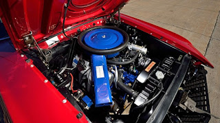 1969 Ford Mustang Boss 429 Engine 01