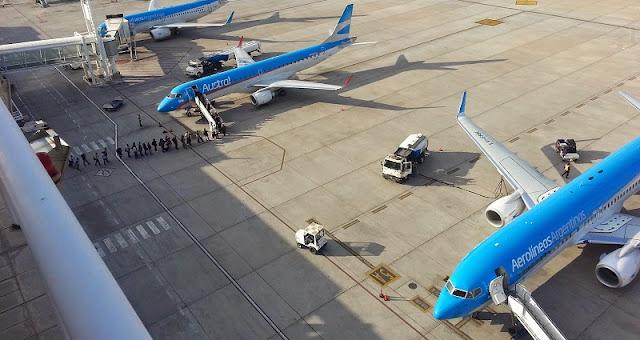 Companhias aéreas e destinos do aeroporto de Mendoza