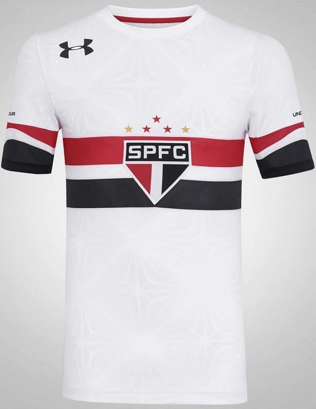 Under Armour divulga nova camisa titular do São Paulo - Show de Camisas 54553729b539e
