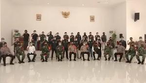 Bersama Kodim 0509, Polres Metro Bekasi Bentuk Pers Pemburu Covid-19