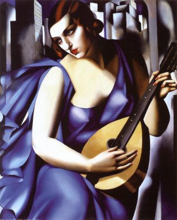 Tranh Lempicka - Tranh sơn dầu
