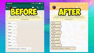 Cara Merubah Gelembung Chat WhatsApp Original