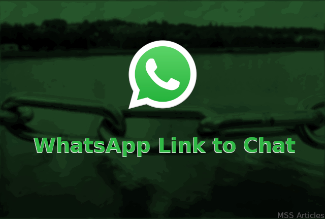 WhatsApp link to chat