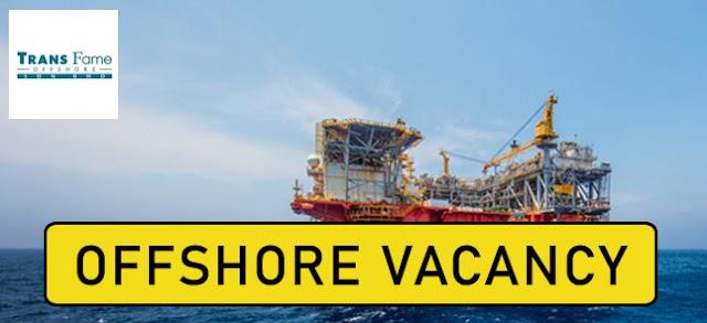 Pengambilan Jawatan Kosong OffShore di TransFame Sdn Bhd