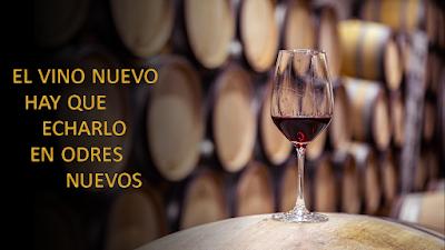 Evangelio según Lucas 5, 33-39: El vino nuevo hay que echarlo en odres nuevos