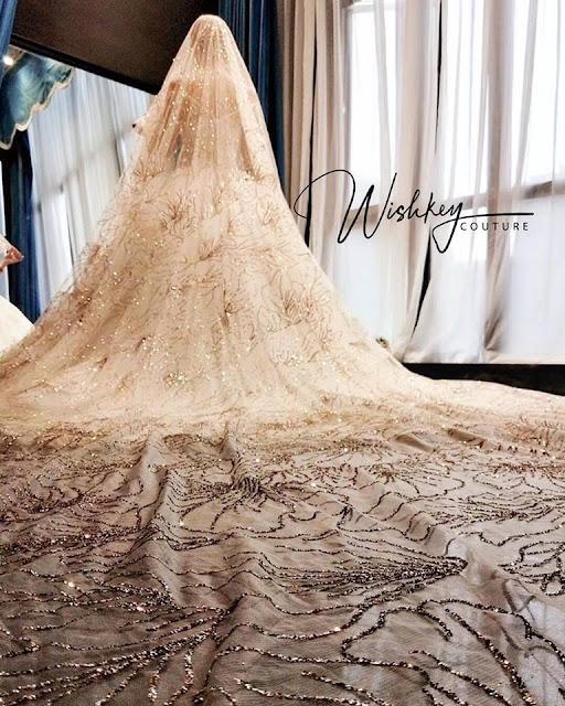 extravagant wedding gown malaysia