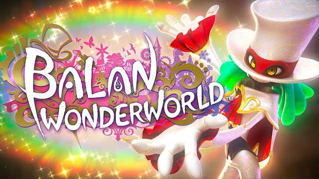 BALAN WONDERWORLD cutscene logo rainbows magic