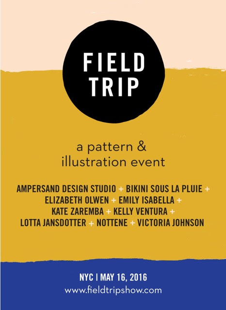 Field Trip, Bluprint and Surtex - The Best Design Shows in Town!