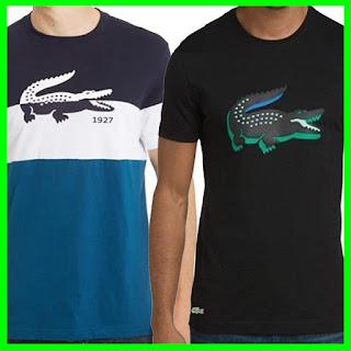 438f96241f0af Camisetas Lacoste